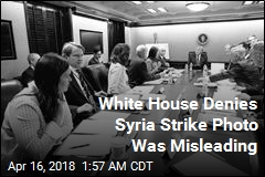White House Clarifies 'Misleading' Syria Strike Photo
