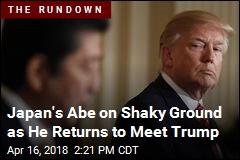 Japan's Abe to Visit Trump; N. Korea Least of His Worries