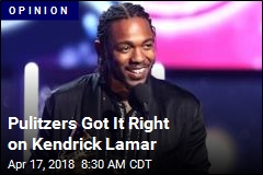 Pulitzers Got It Right on Kendrick Lamar