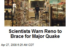 Scientists Warn Reno to Brace for Major Quake
