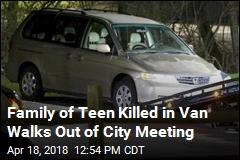 Councilman 'Crossed the Line': Family of Teen Killed in Van