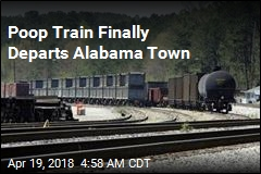 Poop Train Finally Departs Alabama Town
