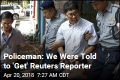 Policeman: We Were Told to 'Get' Reuters Reporter