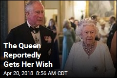 The Queen Reportedly Gets Her Wish
