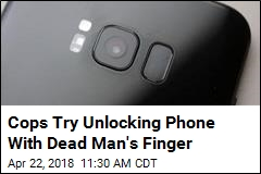 Cops Use Dead Guy's Finger to Try Unlocking His Phone