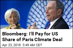 Bloomberg Will Pay $4.5M for US Climate Deal Commitment