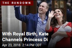 With Royal Birth, Kate Channels Princess Di