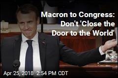 Macron Denounces Isolationism in Speech to Congress