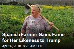 Trump's Spanish Lookalike Cares About Crops, Not Tweets