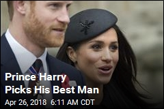 Prince Harry Picks His Best Man