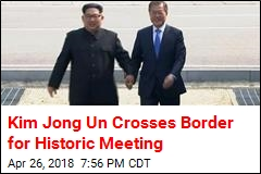 Kim Jong Un Makes History, Crosses Border for Summit