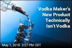 Vodka Maker's Experiment: Use Less Alcohol