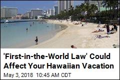 Eying Environment, Hawaii May Ban Most Sunscreens