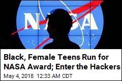 Black, Female Teens in NASA Challenge Targeted by Hackers