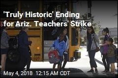 Pay Rise Ends Arizona Teachers' Strike