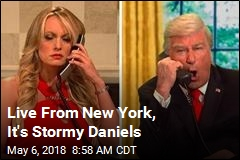 Stormy Daniels Makes SNL Cameo