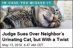 Judge Sues Over Neighbor's Urinating Cat, but With a Twist