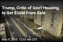 Trump to Get $36M From Sale of Affordable Housing Complex