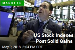 US Stock Indexes Post Solid Gains