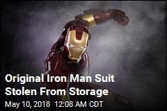 Original Iron Man Suit Stolen From Storage