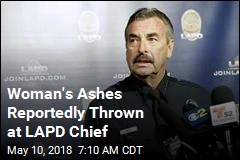 Woman's Ashes Reportedly Thrown at LAPD Chief