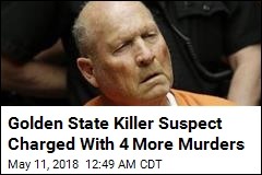 Golden State Killer Suspect Charged With 4 More Murders