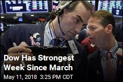 Dow Has Strongest Week Since March
