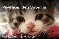 Michigan Cops Pick 'Pawfficer'