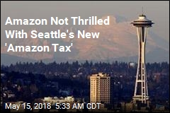 Amazon 'Disappointed' in Seattle's New 'Head Tax'