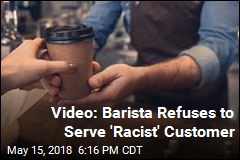 Video: Barista Won't Serve Man Who Insulted Muslim Woman