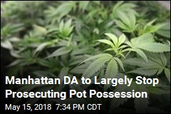 Manhattan DA to Largely Stop Prosecuting Pot Possession