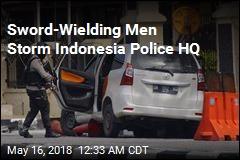 Indonesia Cops Shoot 4 Sword-Wielding Attackers