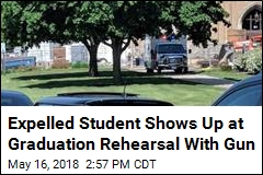 Expelled Student Shows Up at Graduation Rehearsal With Gun