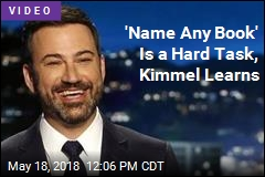 'Name Any Book' Is a Hard Task, Kimmel Learns