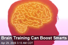 Brain Training Can Boost Smarts