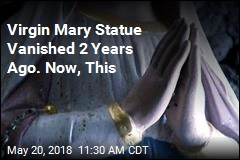 Missing Virgin Mary Statue Turns Up 2 Years Later