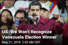 Maduro Wins Disputed Venezuela Election