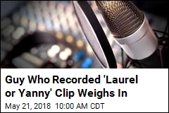Actor's New Claim to Fame: the 'Laurel or Yanny' Guy