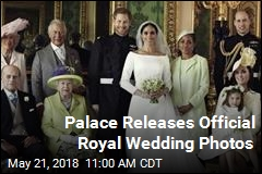 Palace Shares Official Royal Wedding Photos