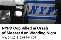 NYPD Cop Killed in Crash on His Wedding Day