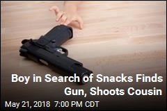 Boy, 9, Looking For Snacks Finds Gun and Shoots Cousin