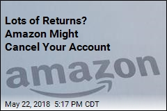 Lots of Returns? Amazon Might Cancel Your Account