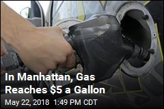 Gas Hits $5 Per Gallon at Station in NYC