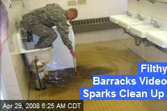 Filthy Barracks Video Sparks Clean Up