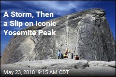 A Storm, Then a Slip on Iconic Yosemite Peak