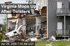 Virginia Mops Up After Twisters