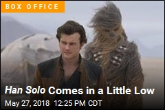Han Solo Does OK, Not Great