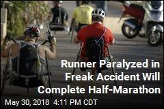 Runner Paralyzed in Freak Accident Will Complete Half-Marathon