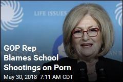 GOP Rep Blames School Shootings on Porn