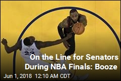 Senators Reveal Bet on NBA Finals